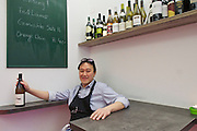 Vienna, Austria. Kiang Winebar.<br /> Joseph Kiang.