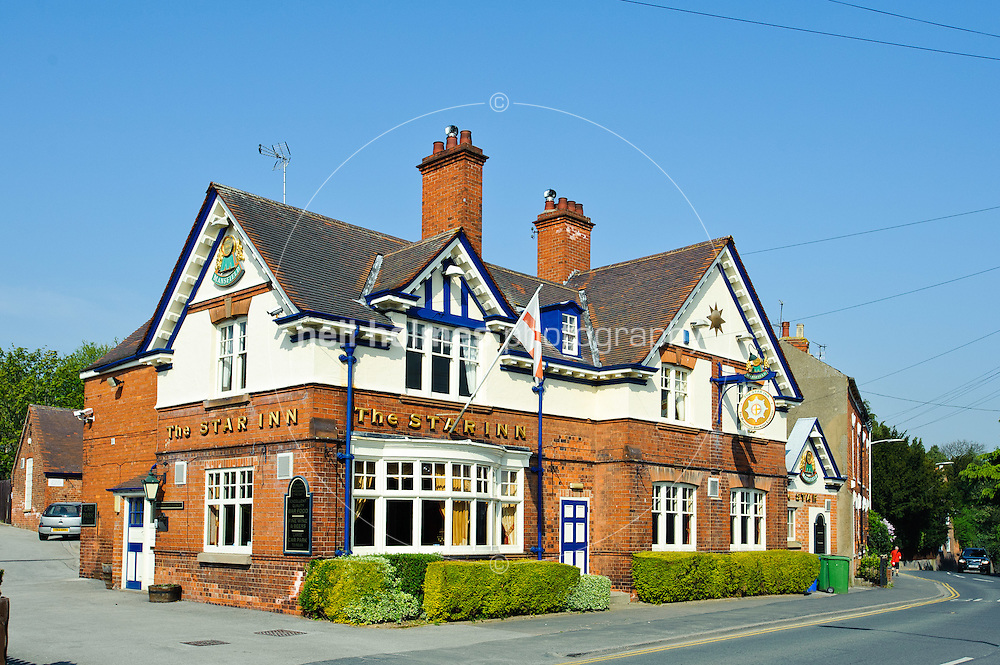 The popular Star Inn on Main Street, Willerby, East Yorkshire