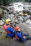 Bhutan, Mangde Chu expdeition, first descent of the lower Mangde Chu, 11/2007, (chu means river), fillming