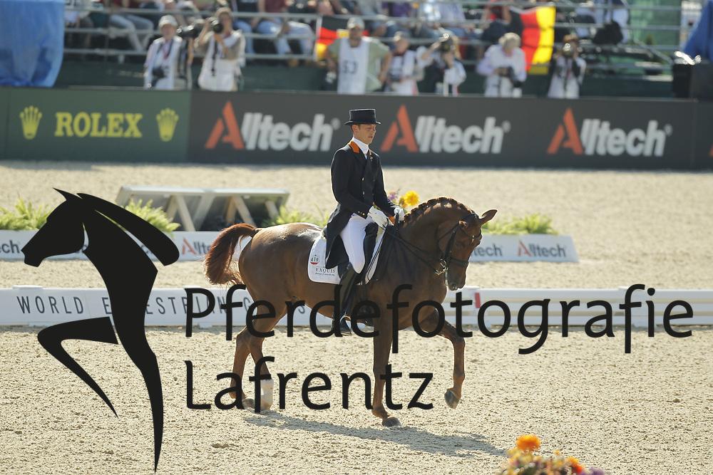 MINDERHOUD Hans-Peter, Equis Nadine<br /> Kentucky - Alltech FEI WEG 2010<br /> /Stefan Lafrentz