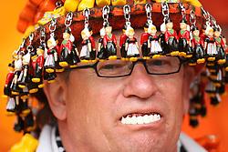 Netherlands fan wearing