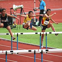 A Division Girls 100m Hurdles