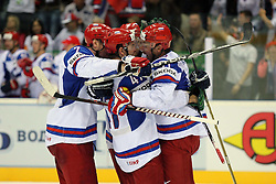 12.05.2011, Orange Arena, Bratislava, SVK, IIHF 2011 World Championship, Canada vs Russia, im Bild TEAM RUSSIA. EXPA Pictures © 2011, PhotoCredit: EXPA/ EXPA/ Newspix/ Tadeusz Bacal +++++ ATTENTION - FOR AUSTRIA/(AUT), SLOVENIA/(SLO), SERBIA/(SRB), CROATIA/(CRO), SWISS/(SUI) and SWEDEN/(SWE) CLIENT ONLY +++++