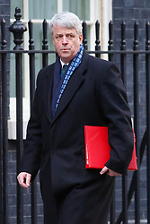 © licensed to London News Pictures. London, UK 04/02/2014. Leader of the Commons<br /> Andrew Lansley attending to a cabinet meeting in Downing Street on Tuesday, 4 February 2014. Photo credit: Tolga Akmen/LNP