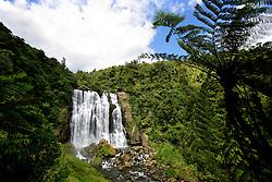 NEW ZEALAND WAITOMO 16DEC07 - Marokopa Falls near Waitomo, western coast of north island, New Zealand...jre/Photo by Jiri Rezac..© Jiri Rezac 2007..Contact: +44 (0) 7050 110 417.Mobile:  +44 (0) 7801 337 683.Office:  +44 (0) 20 8968 9635..Email:   jiri@jirirezac.com.Web:    www.jirirezac.com..© All images Jiri Rezac 2007 - All rights reserved.