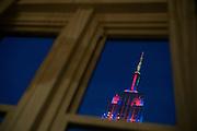 The Empire State Building as seen from 29th Street, Manhattan. ©2014 Darren Carroll