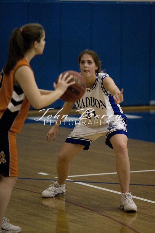 MCHS JV Girls Basketball .vs Orange .December 5, 2006