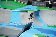 Ben Hatchell during Skate Park Practice at the 2013 X Games Foz do Iguacu in Foz do Iguaçu, Brazil. ©Brett Wilhelm/ESPN