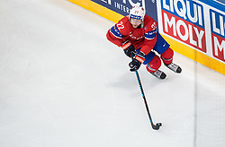 Martin Roymark of Norway during the 2017 IIHF Men's World Championship group B Ice hockey match between National Teams of Norway and Switzerland, on May 7, 2017 in Accorhotels Arena in Paris, France. Photo by Vid Ponikvar / Sportida
