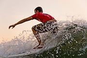 Israel, Mediterranean sea, Wave surfer