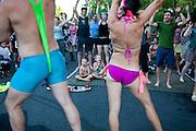 Block party, Portland, 2010