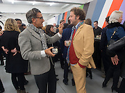 IZZY ANYBODY; LARS VON BENNIGSEN, Frieze week Drinks Party at the opening of the exhibition Island at the Dairy arts Centre, 7a Wakefield Street, Bloomsbury, London. 18 October 2013.