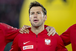 March 21, 2019 - Vienna, Austria - Grzegorz Krychowiak of Poland during the UEFA European Qualifiers 2020 match between Austria and Poland at Ernst Happel Stadium in Vienna, Austria on March 21, 2019  (Credit Image: © Andrew Surma/NurPhoto via ZUMA Press)
