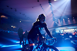 Emilie Moberg (NOR) makes her way from sign on at Omloop Het Nieuwsblad - Elite Women 2019, a 122.9 km road race from Gent to Ninove, Belgium on March 2, 2019. Photo by Sean Robinson/velofocus.com