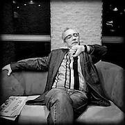 "Juan José Millás<br /> Póvoa de Varzim. Correntes d'Escritas<br /> foto: ©Ricardo Meireles 2008<br /> Revista ""LER"""