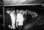 20/09/1967<br /> 09/20/1967<br /> 20 September 1967<br /> German barmen visit Power's Distillery, John's Lane, Dublin. Included in the picture are Mr P.J. Needham, Sales Manager, John Power and Son; Mr Patrick Flahive, Shelbourne Hotel and area representative UKBG; Mr Danny Toland, Dublin Airport; Mr Joe Tyndall, Intercontinental Hotel, Dublin; Col. Eamonn Butler, John Power and Son and Mr Cremer, Charlie's Nightclub, Dusseldorf; Mr Mayer, Regina Palace Hotel, Munich; Mr Baymann, Carlton Hotel, Nuremburg; Mr Berenbrock, Hotel Mondial, Cologne; Mr Boadella, Spa Hotel, Baden-Baden; Mr Thrum, Domizil, Bad Horzburg; Mr Peter, Restaurant Brathandel, Munich.