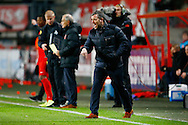 28-11-2015 VOETBAL:FC TWENTE-WILLEM II:ENSCHEDE<br /> Trainer/Coach Rene Hake van FC Twente <br /> <br /> Foto: Geert van Erven