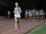 Mar 25, 2017;  Azusa, CA, USA; Claudia Lane of Malibu wins the girls 3,200m in 10:12.21 during the 26th Meet of Champions Distance Classic at Azusa Pacific University.