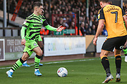 Forest Green Rovers Jack Aitchison(29), on loan from Celtic on the ball during the EFL Sky Bet League 2 match between Cambridge United and Forest Green Rovers at the Cambs Glass Stadium, Cambridge, England on 7 September 2019.