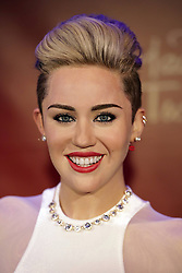 61635294<br /> Miley Cyrus Wax figure at Madame Tussauds, Berlin, Germany, Monday, 2nd June 2014. Picture by  imago / i-Images<br /> UK ONLY