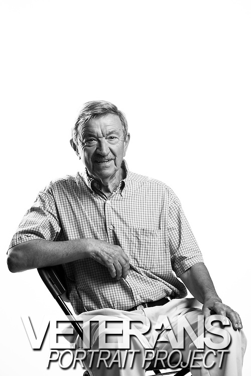 John Faldich<br /> Army<br /> E-4<br /> Clerk<br /> July 1961 - July 1967<br /> <br /> Veterans Portrait Project<br /> Phoenix, AZ