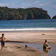 View of Carrillo Beach, one of the most popular beaches in Costa Rica, located about a 20 minutes drive from Casa Los Monitos.  Casa   Los Monitos in located in Punta Islita, Guanacaste, Costa Rica. Photo: Tito Herrera for The New York Times.