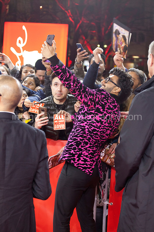 Actor Ranveer Singh at the premiere gala screening of the film Gully Boy at the Berlinale International Film Festival, on Saturday 9th February 2019, Berlin, Germany.