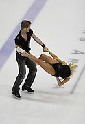 06 Aug 2009: Trina Pratt of the Broadmoor Figure Skating Club and Chris Obzansky of the Salt Lake Figure Skating Club skate in the Senior Free Dance at the 2009 Lake Placid Ice Dance Championships in Lake Placid, N.Y.   The couple placed 5th in the event.   © Todd Bissonette