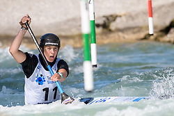 Alja KOZOROG of Slovenia during the Canoe Single (WC1) Womens Semi Final race of 2019 ICF Canoe Slalom World Cup 4, on June 30, 2019 in Tacen, Ljubljana, Slovenia. Photo by Sasa Pahic Szabo / Sportida