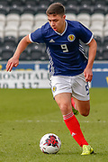 Scotland's Andrew Winter (Hamilton Academical) during the U17 European Championships match between Scotland and Russia at Simple Digital Arena, Paisley, Scotland on 23 March 2019.