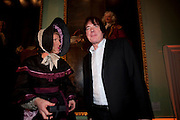 GRAYSON PERRY; JULIAN LLOYD WEBBER, Founding Fellows 2010 Award Ceremony. Foundling Museum on Monday  8 March