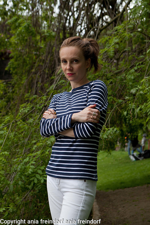 Sophie Brafman in Paris. Damart Fashion with Sophie Brafman
