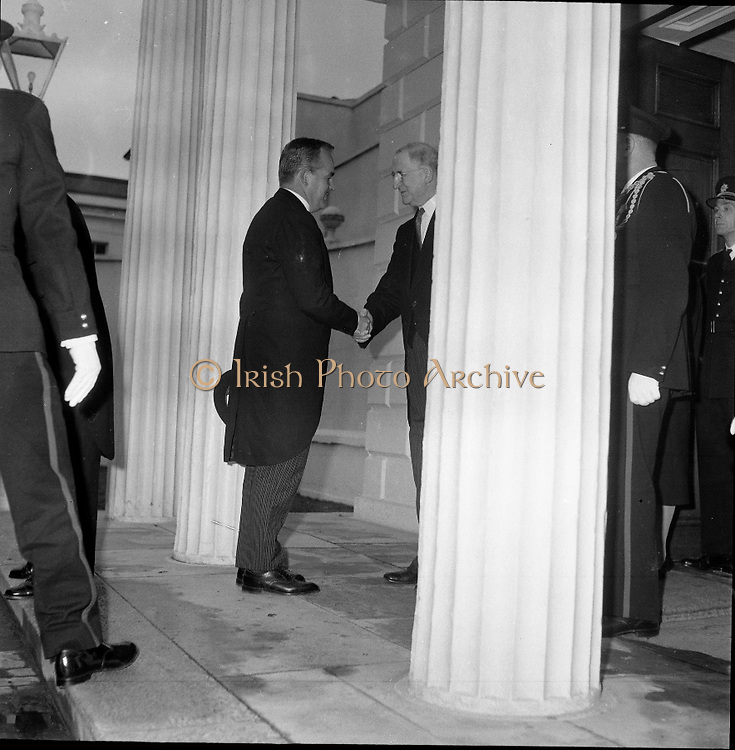 Royal Visit to Ireland by Princess Grace and Prince Rainier of Monaco.10-11-12.06.1961