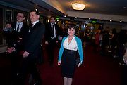 Imelda Staunton;  The Laurence Olivier Awards, The Grosvenor House Hotel. Park Lane. London. 8 March 2009