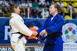 TRSTENJAK Tina of Slovenia and VERMEER Sanne of the Netherlands competes on July 27, 2019 at the IJF World Tour, Zagreb Grand Prix 2019, in Dom Sportova, Zagreb, Croatia. Photo by SPS / Sportida