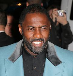 Idris Elba, Harper's Bazaar Women of the Year Awards, Claridge's Hotel, London UK, 05 November 2013, Photo by Richard Goldschmidt © Licensed to London News Pictures. Photo credit : Richard Goldschmidt/Piqtured/LNP