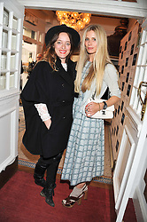 Left to right, ALICE TEMPERLEY and LAURA BAILEY at the Grand Classics screening of American Pie in association with Grey Goose vodka celebrating 100 years of Universal Pictures' Greatest films held at the Electric Cinema, Portobello Road, London on 30th April 2012.