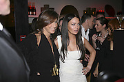 Donna Karan and  Lindsay Lohan, DONNA KARAN GOLD FRAGRANCE COLLECTION LAUNCH <br />