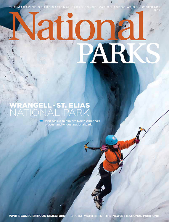 National Parks: Cover (January 2011)