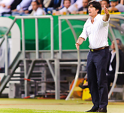 29.05.2011, Rhein-Neckar-Arena, Sinsheim, GER, LS FSP, Deutschland (GER) vs Uruguay (UY), im BildHeadcoach Joachim Loew of Germany during the Football Friendly Ship betweem Germany and Uruguay  for the Rhein-Neckar-Arena in Sinsheim, Germany, 2011/05/29, EXPA Pictures © 2011, PhotoCredit: EXPA/ nph/  Roth       ****** out of GER / SWE / CRO  / BEL ******