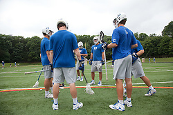 29 May 2010: Duke Blue Devils men's lacrosse during practice at Essex Community College in Baltimore, MD.