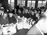 Luncheon at Great Northern Railway Hotel, Bundoran, following the dedication of a New Franciscan Church at Rossnowlagh, Co. Donegal..29/06/1952