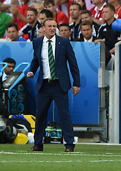 Northern Ireland Manager Michael O'Neill  - Mandatory by-line: Joe Meredith/JMP - 12/06/2016 - FOOTBALL - Stade de Nice - Nice, France - Poland v Northern Ireland - UEFA European Championship Group C