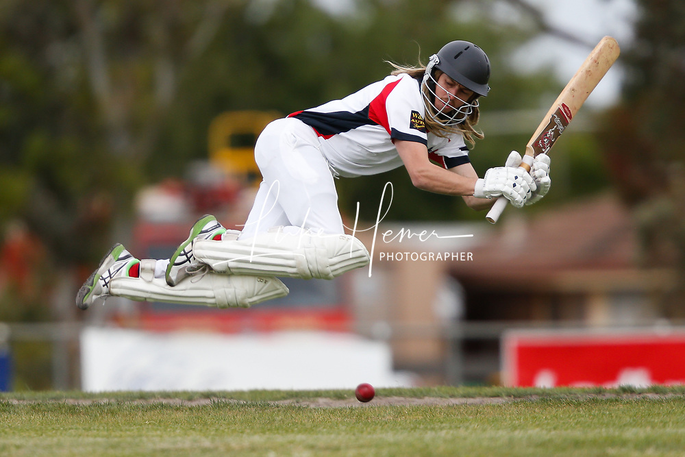 Steven Fogarty of Diggers Rest Bulla during the GDCA match between Diggers Rest Bulla and Riddle.  Photo by Luke Hemer.
