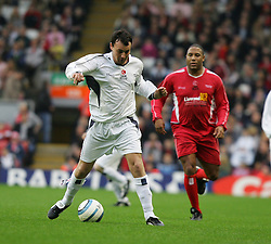 LIVERPOOL, ENGLAND - SUNDAY MARCH 27th 2005: Celebrity XI's Stephen Fletcher during the Tsunami Soccer Aid match at Anfield. (Pic by David Rawcliffe/Propaganda)