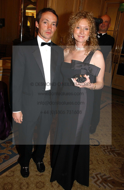 MR & MRS WALTER SWINBURN at the Cartier Racing Awards 2006 held at the Four Seasons Hotel, Hamilton Place, London on 15th November 2006.<br />
