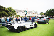 August 22-26, 2018. Monterey Car Week. Lamborghini SVJ Special Edition.