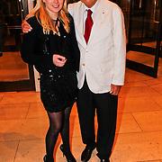 NLD/Amsterdam/20100911 - Modeshow Mart Visser najaar 2010, Ferry Hoogendijk en dochter Fleur