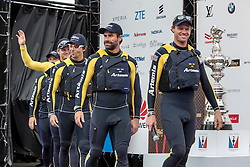 Louis Vuitton America's Cup Worlds Series in Fukuoka. Saturday the 19th of November 2016, Fukuoka, Japan