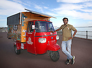 Tuk tuk adventurer arrives in UK, 12 September 2016